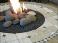 Ancient Mosaic Fire Table