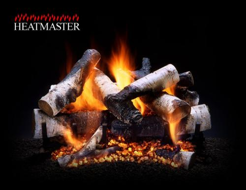 Heatmaster Vented Gas Logs